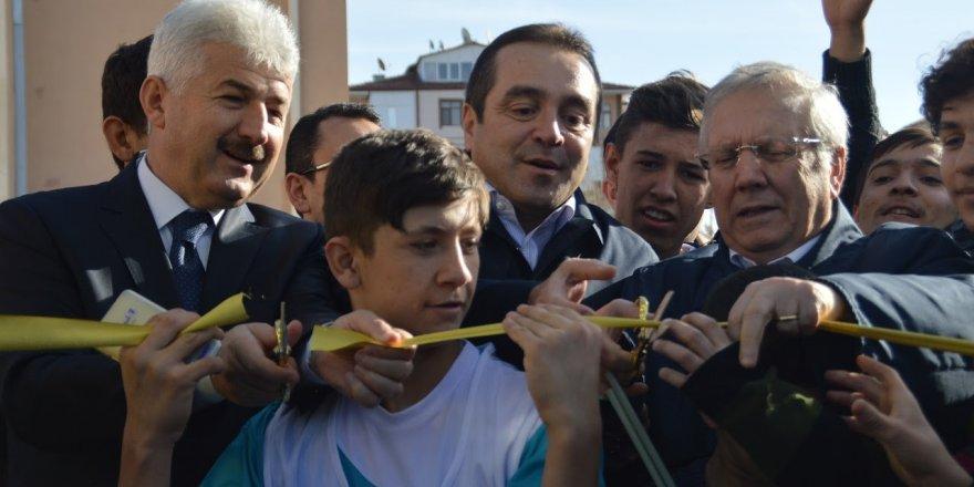 Aziz Yıldırım, Konya'da pota açılışı yaptı