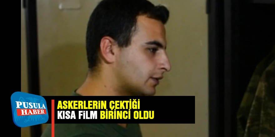 Askerlerin çektiği kısa film yarışmada birinci oldu
