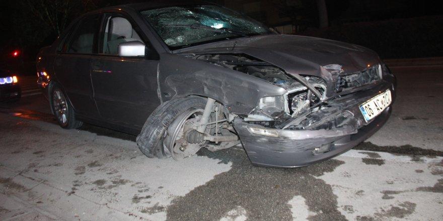 Hocacihan'da alkollü sürücü dehşeti