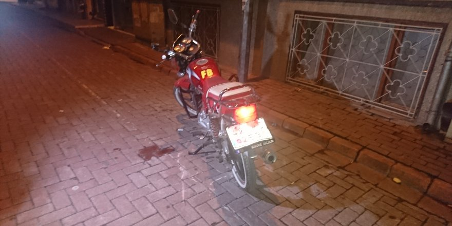 Suriyeli motosiklet hırsızı yakalandı