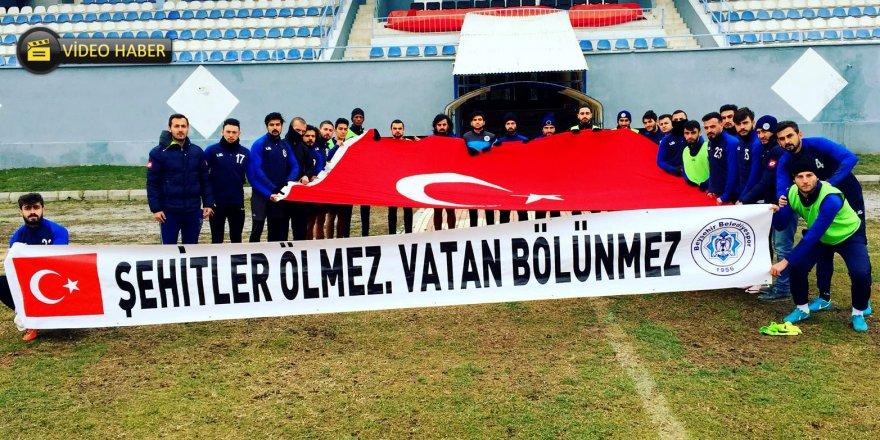 Beyşehir'den Afrin mesajı