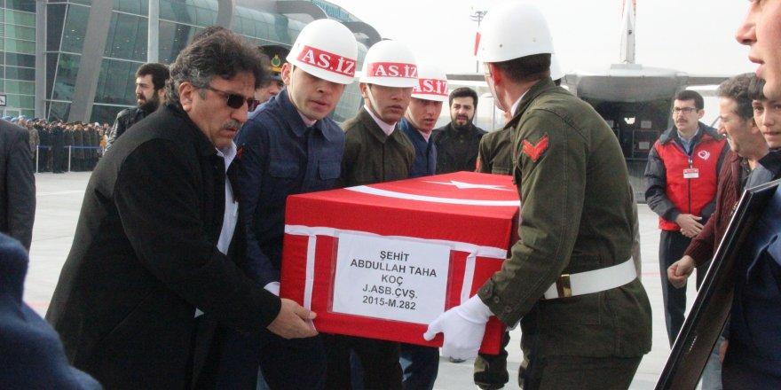 Şehit Astsubay Koç'un cenazesi, memleketi Konya'da