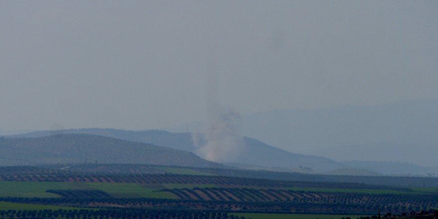 Afrin'de YPG/PKK-DAEŞ hedefleri vuruluyor