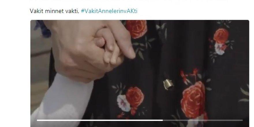 Cumhurbaşkanı Erdoğan'dan 'Anneler Günü'ne özel video