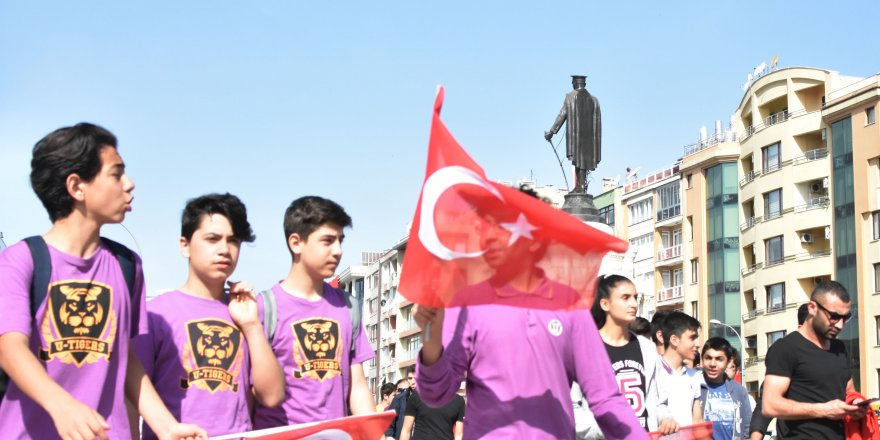 Konya'da 19 Mayıs coşkusu