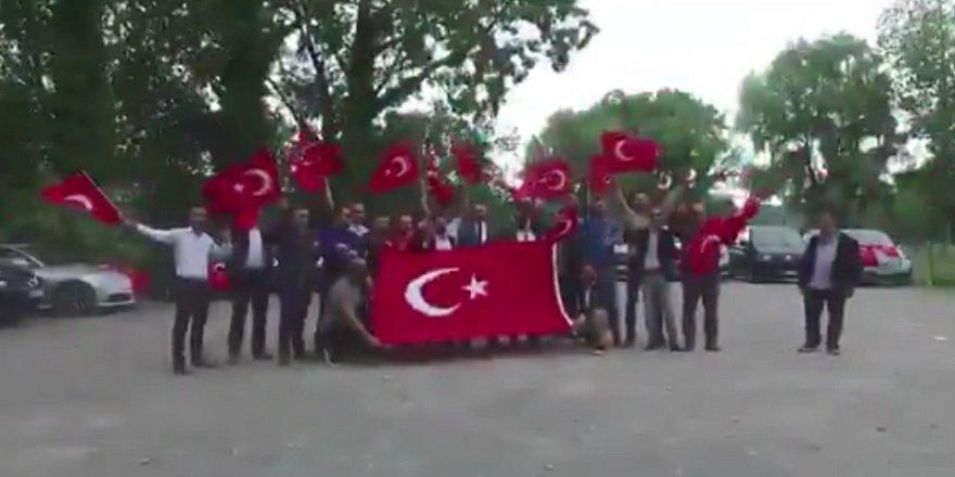 Belçika'dan Erdoğan'a destek