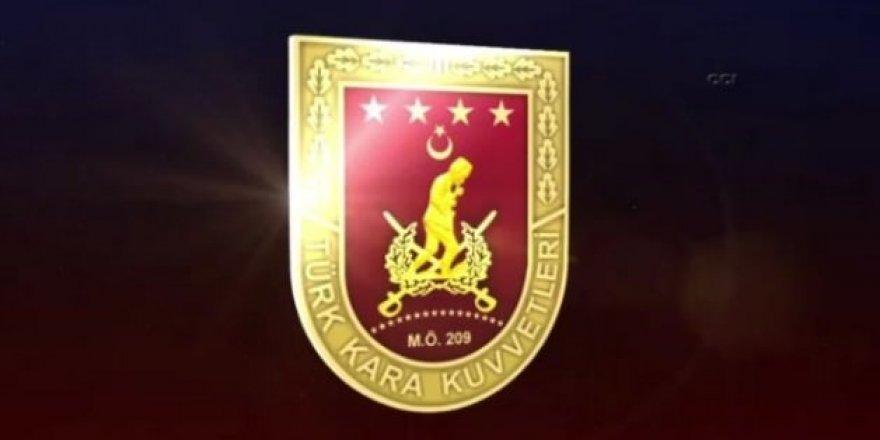 Kara Kuvvetleri Komutanlığı'nın kuruluş yıl dönümüne özel klip