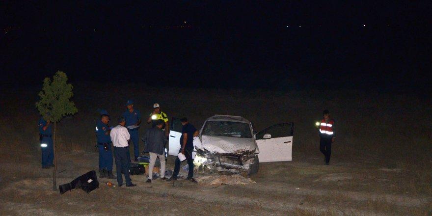 Aynı yerde iki kaza: 1 ölü, 4 yaralı