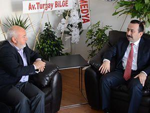 Rektör Prf. Dr. Hakkı Gökbel Gazetemizi Ziyaret Etti