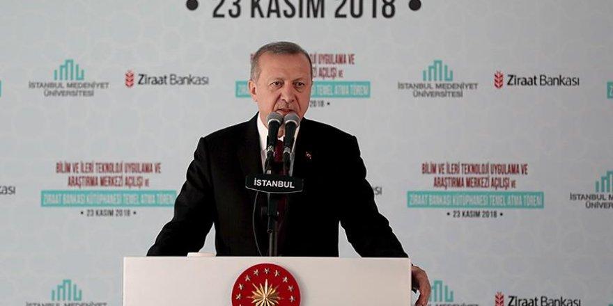 Erdoğan: Türk üniversiteleri çağ atladı