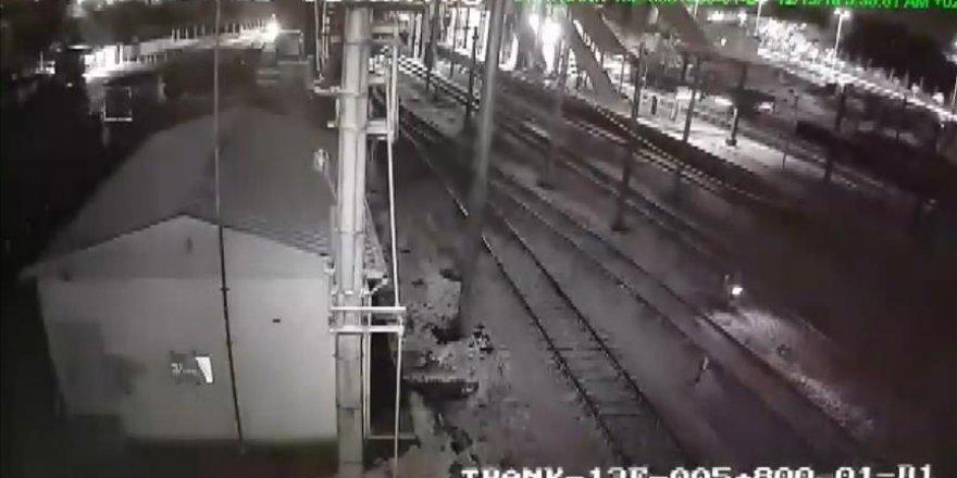Yüksek Hızlı Tren'in çarpışma anı