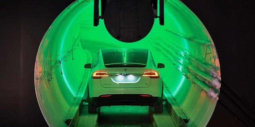 Musk'un yeraltı tüneli açıldı