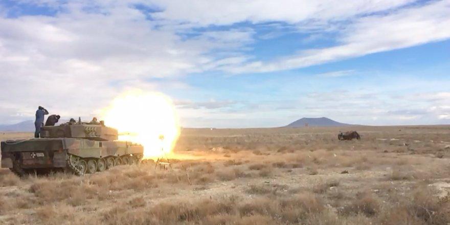 Yerli modern tank mühimmatı göreve hazır