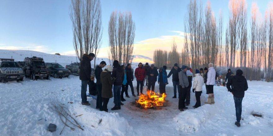 Off-road'culardan kış turizmine destek