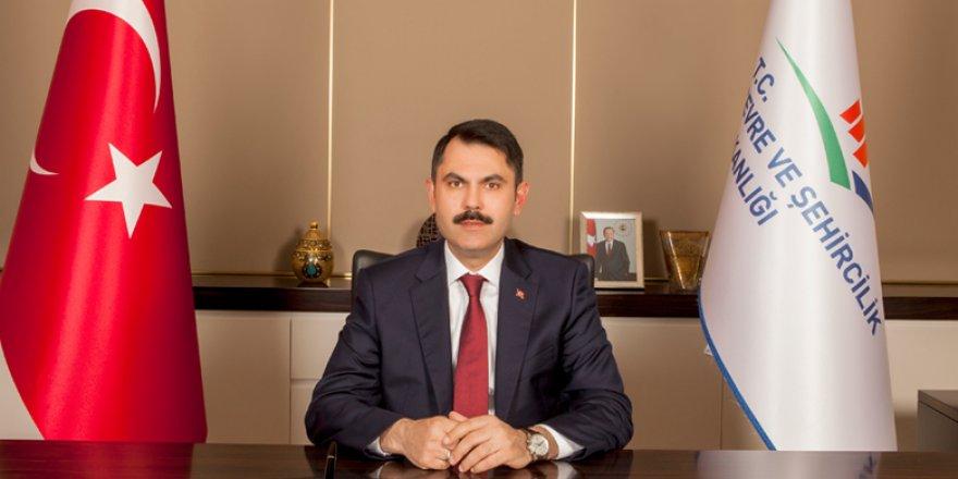 """Bakan Kurum: """"(Kentsel dönüşümde) Hedefimiz Türkiye'deki 6.7 milyon konutun dönüşümünü gerçekleştirmek"""""""