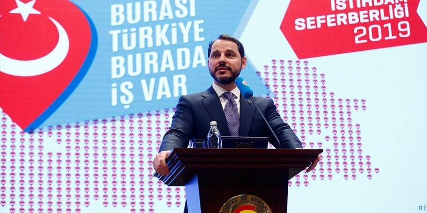 Bakan Albayrak'tan 2,5 milyon istihdam müjdesi