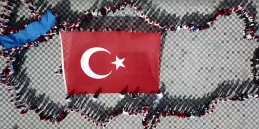 """MİS Koleji, """"Çanakkale Geçilmez"""" dedi"""