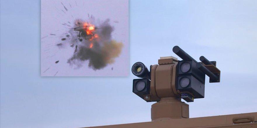 Türkiye'nin yeni silahından ilk görüntüler