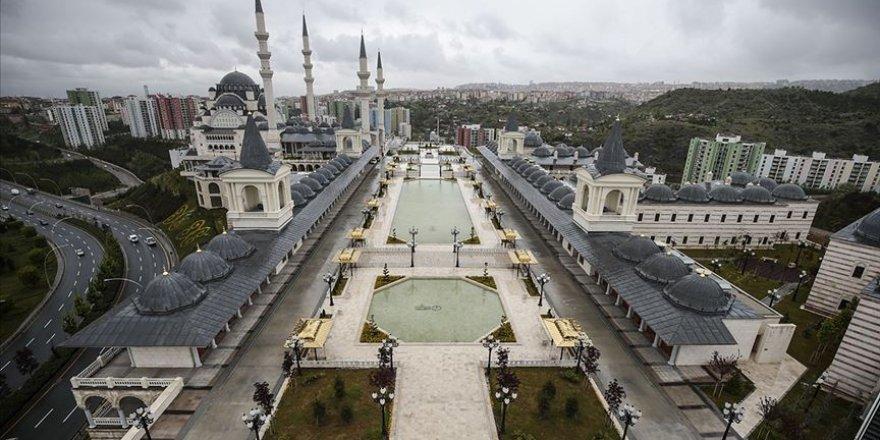 Başkentin üçüncü büyük camisi açılıyor
