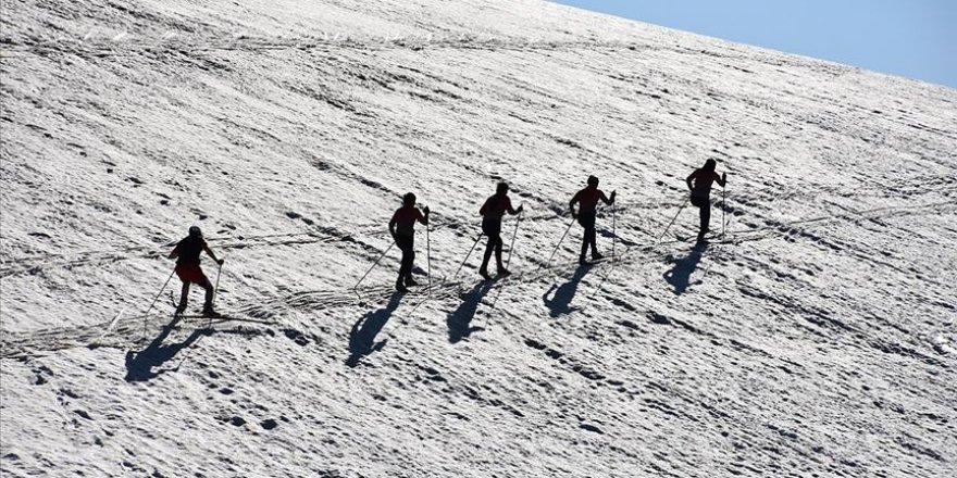 Haziran ayında karda antrenman