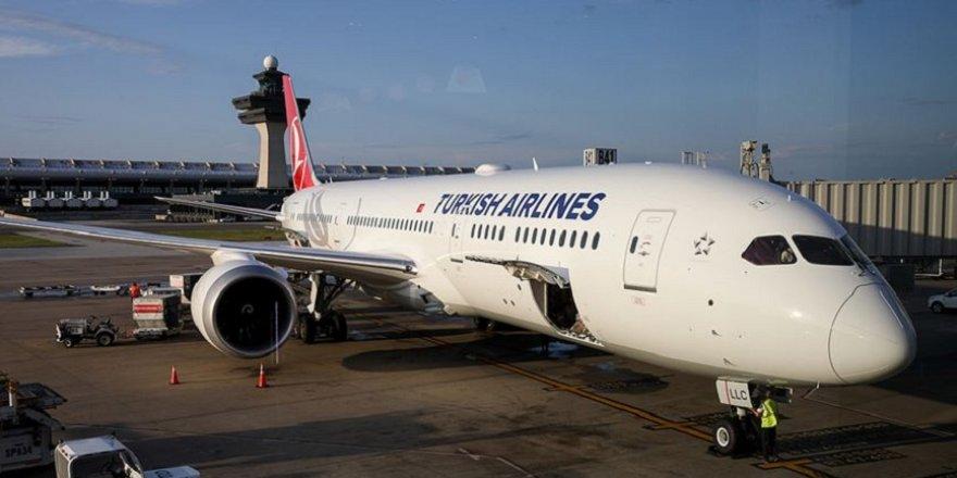 """THY'nin """"rüya uçağı"""" İstanbul- Washington seferlerine başladı"""