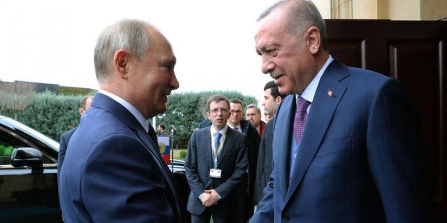 Cumhurbaşkanı Erdoğan-Rusya Devlet Başkanı Putin Görüşmesi Başladı