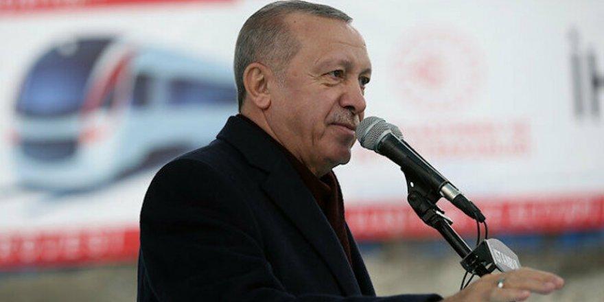 """Cumhurbaşkanı Erdoğan """"Hızlı Tren Hatlarıyla Ülkemizi Dört Bir Noktaya Bağlayacağız"""""""