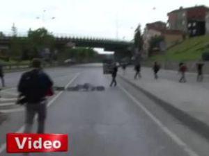 Gezi'de teröristler meydana çıktı