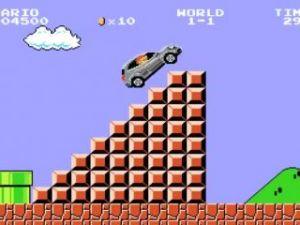 Mercedes'ten 'Süper Mario'lu reklam!