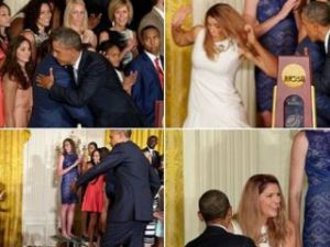 Düşen basketçinin imdadına Obama yetişti!