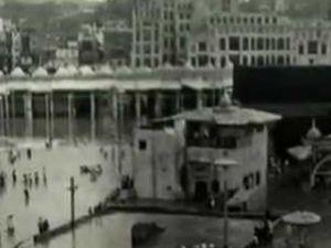 1938 yılında çekilen Kabe ve Mekke