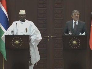 Gül - Jammeh Ortak Basın Toplantısı