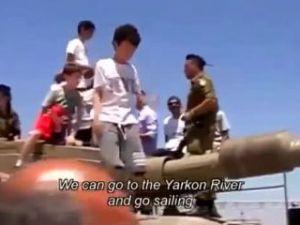 İsrailli çocuklar böyle yetiştiriliyor!