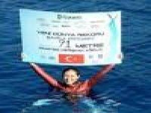 Milli Sporcu Şahika Ercümen'den İkinci Rekor