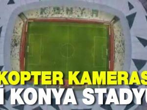 İşte helikopter kamerasıyla yeni stadyum