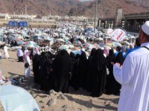 Türk hacı adayları Uhud'u ziyaret etti