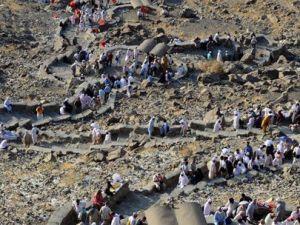Hacı adaylarının Hira Mağarası heyecanı