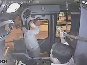 Otobüs şoförü öyle bir şey yaptı ki...